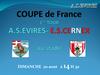 TIRAGE de la COUPE de FRANCE les Ciels et Noirs accueilleront E.S.CERNEX - A.S.EVIRES