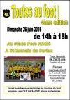 Le 26-06-2016: Journée Toutes au Foot (4ème Edition) - A.S. LA SANNE SAINT ROMAIN DE SURIEU