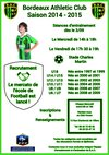 ECOLE DE FOOTBALL SAISON 2014/2015 - BORDEAUX ATHLETIC CLUB