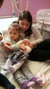 La petite Rose, née le 13 février 2018 au sein du foyer d'Amandine et Jérôme MOREIRA - E.S. TOULON
