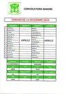 Convocs 14 décembre - ENTENTE SPORTIVE PORTSALL KERSAINT