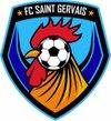 logo du club football club saint gervais les trois clochers