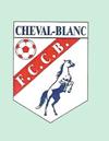 logo du club FC Cheval-Blanc : Le Bleu et le Blanc sont nos couleurs