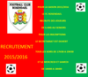 LE FC ROSENDAEL RECRUTE POUR LA SAISON 2015/2016 - FOOTBALL CLUB DE ROSENDAEL