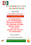 Tournoi U8/U9 samedi 16 juin - FOOTBALL CLUB DE ROSENDAEL
