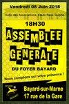Assemblée Générale du Foyer Bayard le 08/06/2018 - FOYER BAYARD