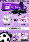 16è de finale de la Coupe Atlantique - Dimanche 31 janvier 2016 - GFP44/DDS - Groupement Féminin Presqu'ile 44