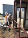 Aperçu de l'avancée des travaux vestiaires - JA Soulgé sur Ouette