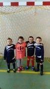 l'équipe débutant du NAC lors de leurs premier plateau - NEUVILLE ATHLÉTIQUE CLUB