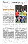 COMPTE RENDU SAS EPINAL C-SENIORS A - SAINT MAX ESSEY FC