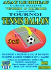 Tournoi de tennis ballon du SCAC - Sporting Club Azay Cheille