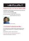 RECHERCHE U16/17 POUR LA SAISON 2015/2016 - US PUJAUT