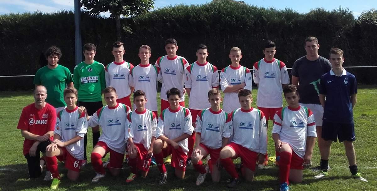 U17 équipe 2 (nés en 1999 - 2000)