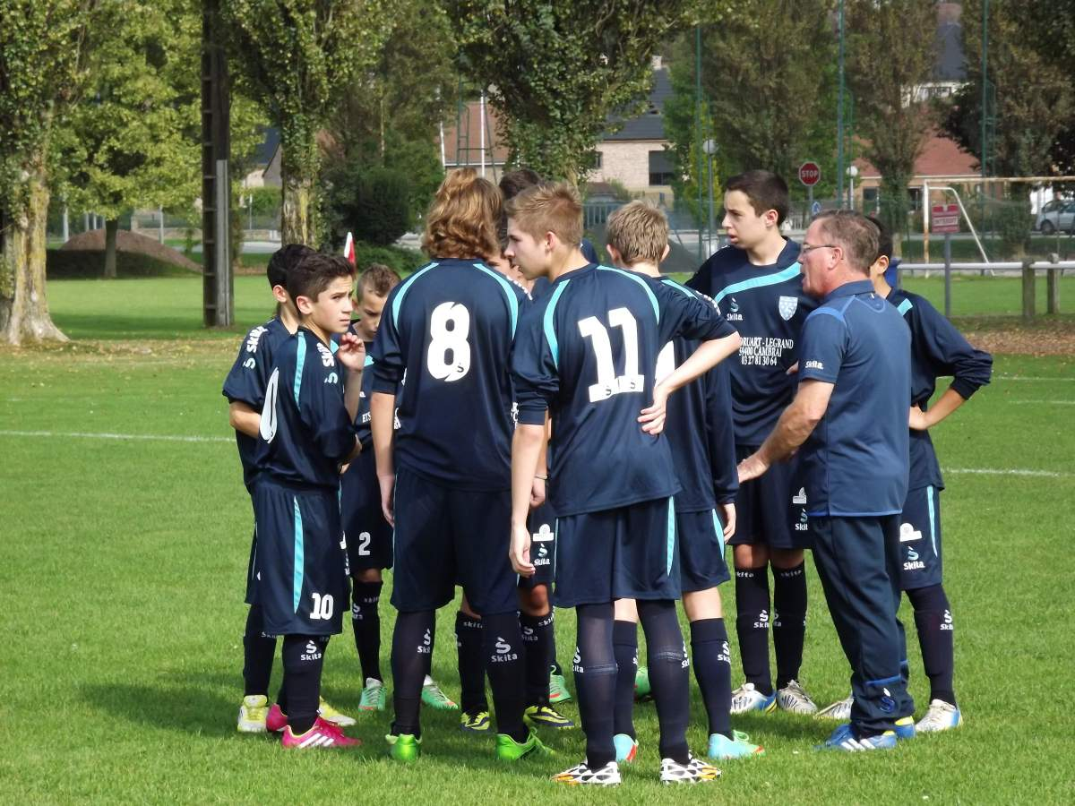 Match U15 saisons 2014-2015