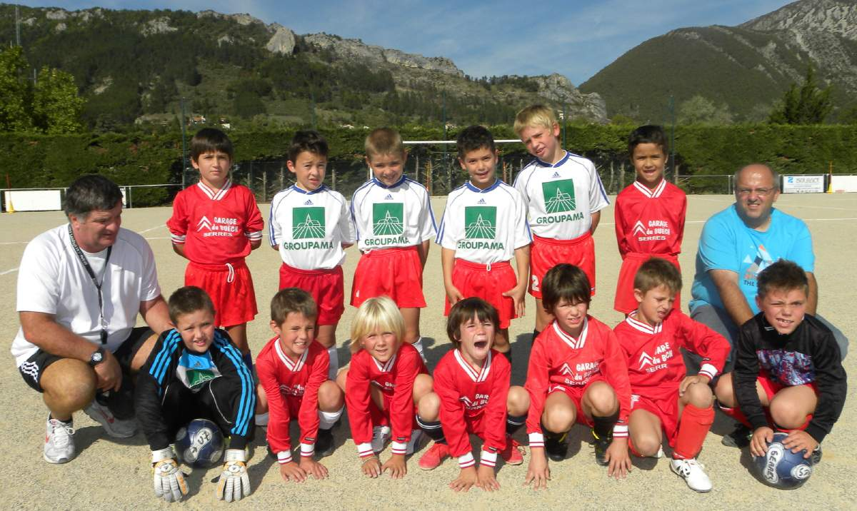 SPORTING CLUB SERROIS U 9