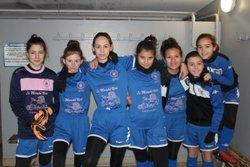 AAG U14 Féminine - 13/01/2018 - Plateau à Grisolles - Association Amicale Grisolles