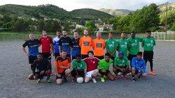 Rencontre CAC SPORT / CHANDOURENE du 9 Mai 2017 - Football Loisir Dignois