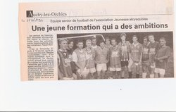 Nos Articles  de presse .............. - Association Jeunesse Alcyaquoise