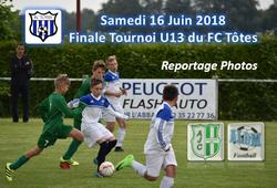 Finale U13 Tournoi du Fc Tôtes (ALDM / AJC BLH 1-0 le 16/06/2018) - AMICALE JOSEPH CAULLE BOSC LE HARD