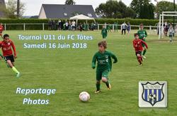Nos U11 au tournoi du FC Tôtes (le 16/06/2018) - AMICALE JOSEPH CAULLE BOSC LE HARD