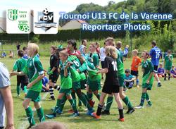 Tournoi U13 FC de la Varenne (le 23/06/2018) - AMICALE JOSEPH CAULLE BOSC LE HARD
