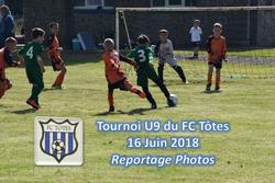 Nos U9 au tournoi du FC tôtes (le 16/06/2018) - AMICALE JOSEPH CAULLE BOSC LE HARD