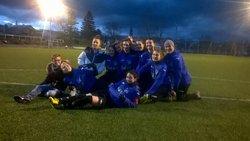 Les féminines remportent une troisième victoires consécutive au détriment de Saint Romain de Surieu sur le score de 9 à 2. - Amicale Sportive Vernousaine