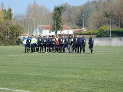 L'équipe A se déplaçait à Chalais (Sud Charente). Score 0-3 - AM.S VOEUIL ET GIGET
