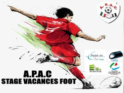 STAGE VACANCES FOOT APAC 2018 - A.P.A.C CHAMPIGNY SUR MARNE