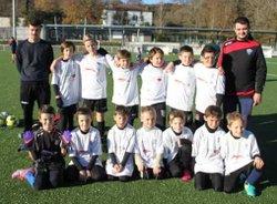 plateau des U10 à Ustaritz le 10/12/2016 - ARDANAVY  FOOTBALL   CLUB