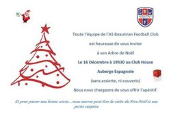 Arbre de Noel de l'ASB !!!! Samedi 16 décembre 2017 - AS Beautiran Football Club
