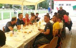 Repas d'après matche - association sportive celluloise