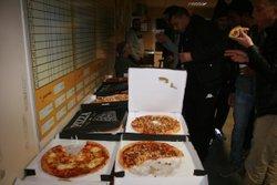 Soirée Pizzas dernier entrainement Séniors 2017 - Association Sportive Chapelloise