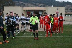 Match Senior 1 Vallée de Jabron 11022018 - Association Sportive de Cornas