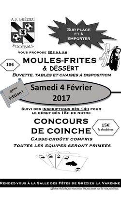 MOULES-FRITES / CONCOURS DE COINCHE