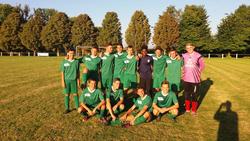 U18- Vaiqueur a Obermorscwiller -coupe 10 a 1  bravo à l'ensemble de L'équipe - A.S.  HAUSGAUEN