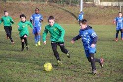 Nos 2 équipes U11 en pleine action un samedi matin !!! - Association Sportive Martigné sur Mayenne
