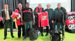 L'A.S Ménimur Vainqueur du Crédit Agricole Mozaïc Foot Challenge en catégorie U15