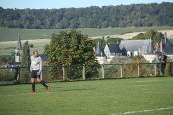 3ème  tour de la coupe de France au stade municipal du Rambure - AS MESNIERES-EN-BRAY
