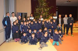 arbre de Noel 2014 AS MEZIRE FESCHES LE CHATEL - Association Sportive Méziré Fesches le Châtel