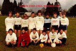 SAISON 1982-1983: MINIMES AST - AMICALE SPORTIVE TREMEVENOISE