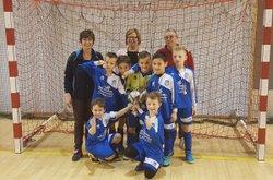Les U9 victorieux au tournoi de St Nicolas de Port