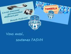 Tombola & Livret souvenir : Soutenez l'ASVH