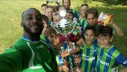 Aymar fièr de ses petits - ENTENTE FEIGNIES AULNOYE FOOTBALL CLUB