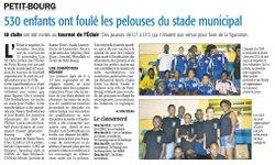 Article Journal France Antilles - L'ÉCLAIR DE PETIT-BOURG