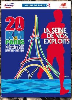20 kilomètres de Paris