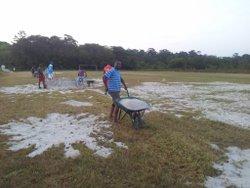 Mayouri terrain samedi 12 septembre 2015 - A.S.C.  DOUANES ET FINANCES GUYANE