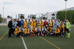 Rencontre amicale ASCO Vétérans A - Internationaux 16/04/2017 - Association Sportive des Cheminots de l'Ouest (A.S.C.O.)
