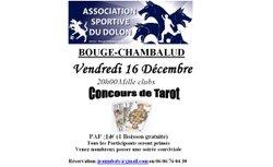 Concours de Tarot - 15 Décembre - Mille clubs - Bougé