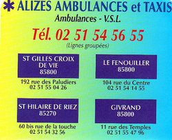 ALYSEES AMBULANCES